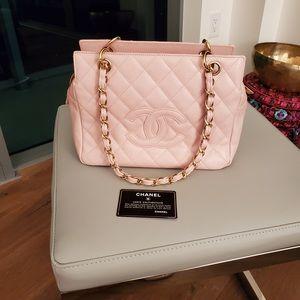 Chanel pink handbag